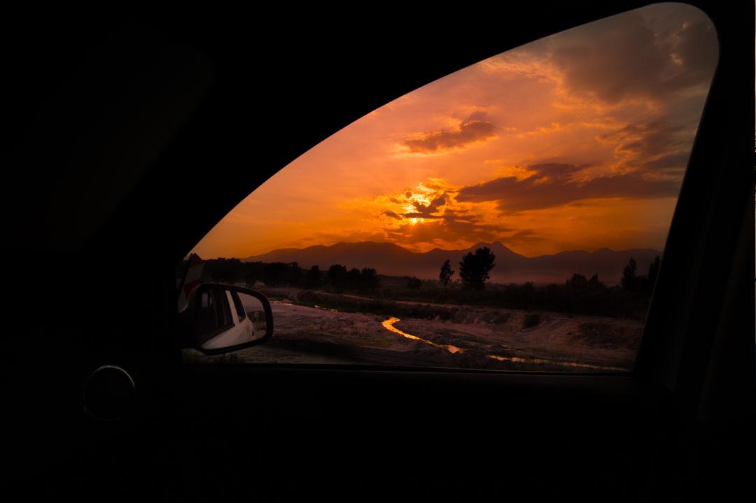 Auto-raam