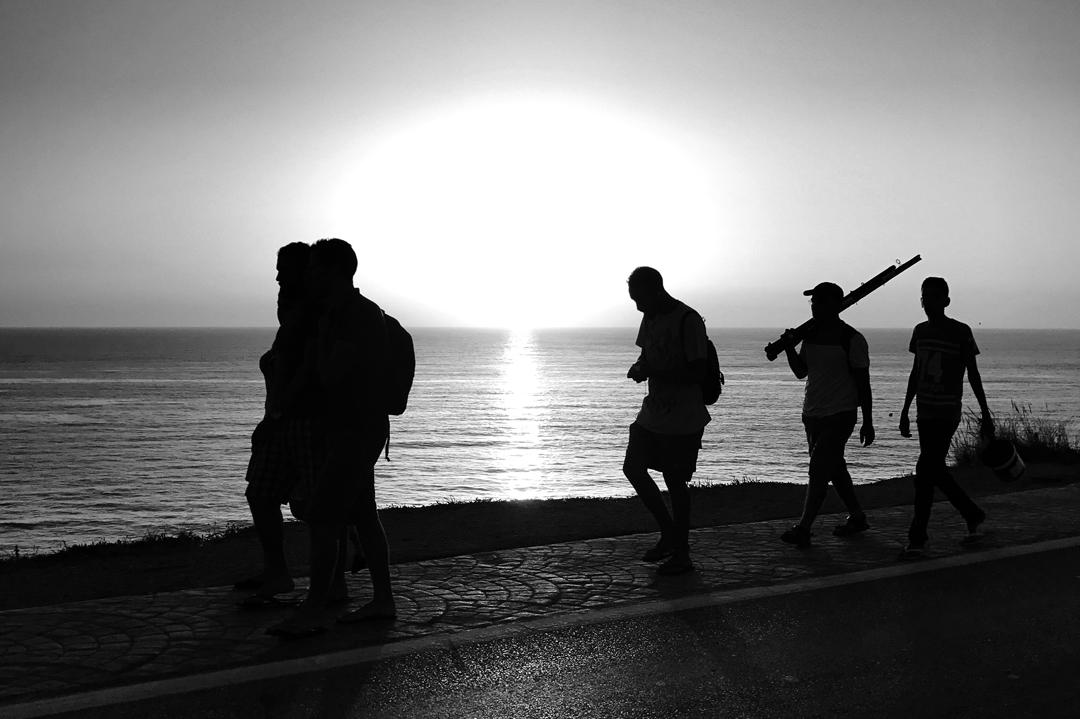 strand-wandelaars